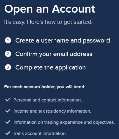 Account Opening Procedures